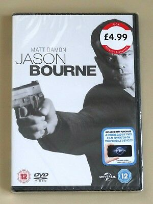 Jason Bourne (with Digital Download)  DVD  NEW & SEALED