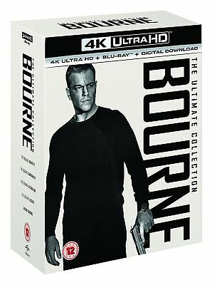 Bourne: The Ultimate 5-movie Collection (4K Ultra HD + Blu-ray + Digital Downl