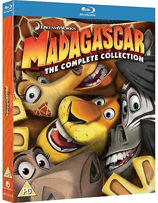 Madagascar: The Complete Collection (Box Set) [Blu-ray]