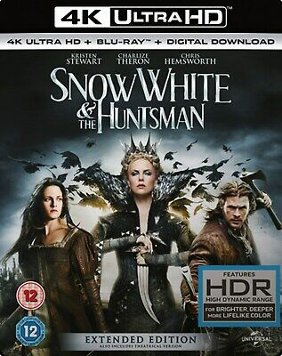 Snow White and the Huntsman (4K Ultra HD + Blu-ray + Digital Download (Red Tag