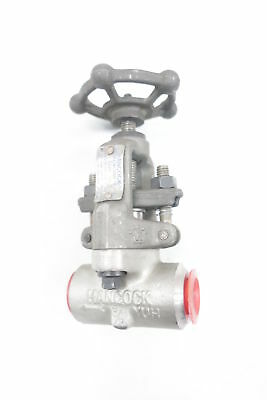 Hancock 8130W-1-2 Manual Stainless Needle Valve 3/8in