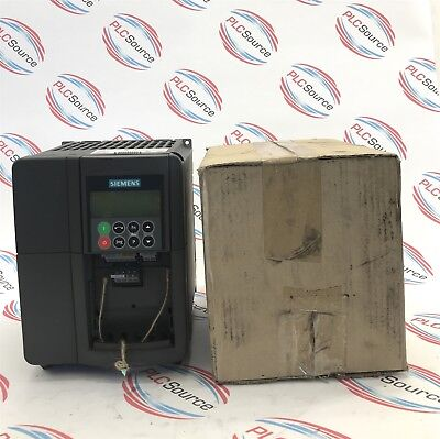 SIEMENS  MICROMASTER 420  6SE6420-2AD23- FREQUENCY INVERTER DRIVE and FILTER