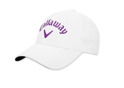 ea5281a0b1a Callaway Golf 2019 Women s Liquid Metal Adjustable Hat Cap Color   White Purple