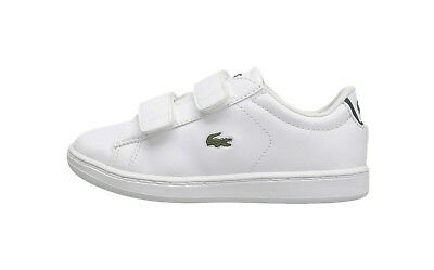 968cf2b0a Lacoste Carnaby Evo BL 1 Toddler Shoes 7-33SPI1003042 - White Navy