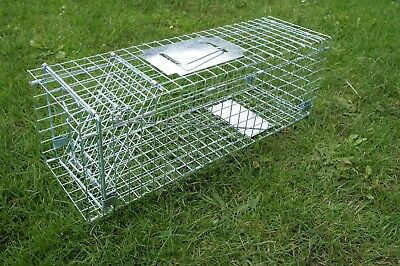"""Humane folding Large 26""""  Cat trap, keeping your pet unharmed, cat catching trap"""