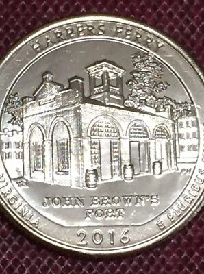 2016 D Harpers Ferry Atb National Historical Park (Wv) Quarter Uncirculated