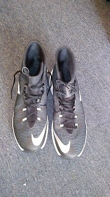 90f990712e76 Nike Zoom Clear Out TB Basketball Men s Shoes Black White 844372-002 Size  15 US