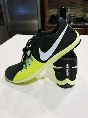 low priced 1d532 4648c Men s Nike Zoom Forever XC 5 Spike Size 10 904723 017 Black   Volt - Victory