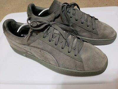 11 Classic Agave Mens Shoes Casual Suede Tonal Puma New Green Size xtdBosQrCh