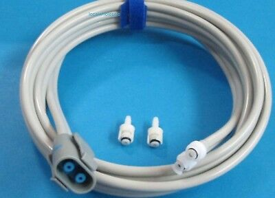 Compatible  GE Dinamap NIBP Cuff Double Hose Tube 107363