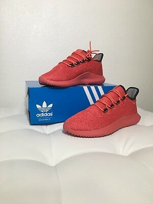 best loved 346f5 9d756 ADIDAS SIZE 10 Tubular Shadow Mens Shoes Red/Core Black