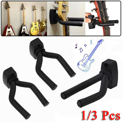 1/3 Pcs Support Mural Universel Stand Crochet Fixation pour Guitare Basse Banjo