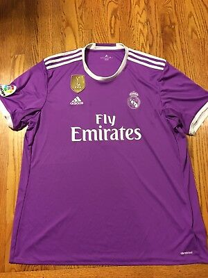 038bd7049e PURPLE ADIDAS REAL Madrid Jakob Soccer Jersey Men s XXL 2XL -  33.00 ...