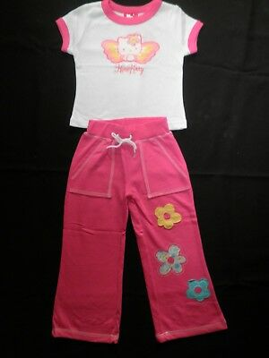 Girl's Hello Kitty 2 Piece Outfit, Pink and White, Size: 2 Left Only, BNWT