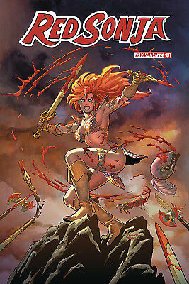 RED SONJA #1 - Conner Cover A - NM - Dynamite - Presale 02/06