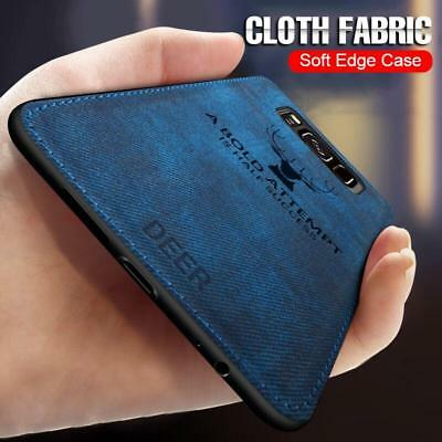 Luxury Cloth Texture Case For Samsung Galaxy Note 8 9 S8 S9 PLus Shockproof Cove