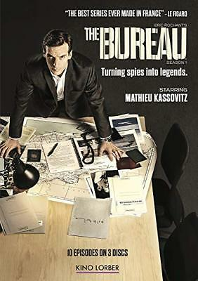 The Bureau: complete Season 1 series first one dvd new sealed + FREE TRACKING