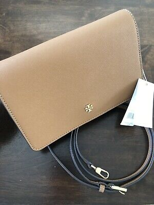 aa9a7a6c0c13 MOTHERS DAY TORY Burch Bombe T Combo Large Crossbody Clutch Leather ...