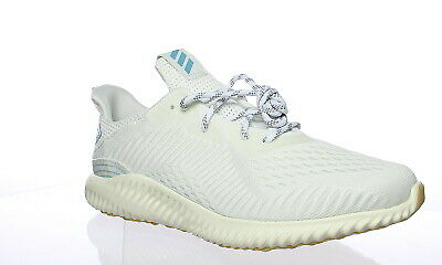 sports shoes 5c95b b5478 Adidas Womens Alphabounce 1 Parley White Running Shoes Size 10.5 (160517)