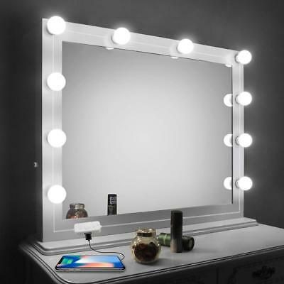Vanity Mirror Lights Kit,LED For With Dimmer And USB Phone Charger,LED Makeup