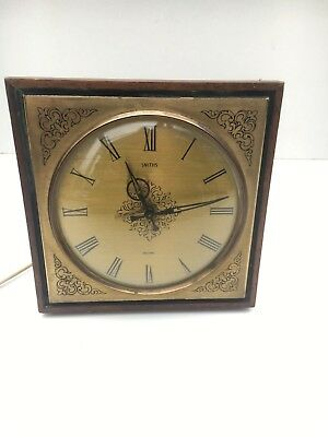 Vintage Smiths Sectric Electric Mantle/ Wall Clock Working