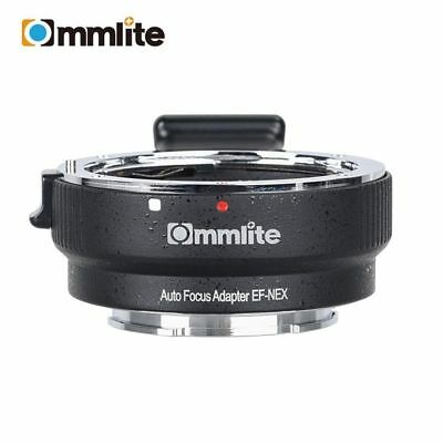 Commlite CM-EF-NEX AF Lens Mount Adapter for Canon EF/EF-S Lens to Sony E-mount