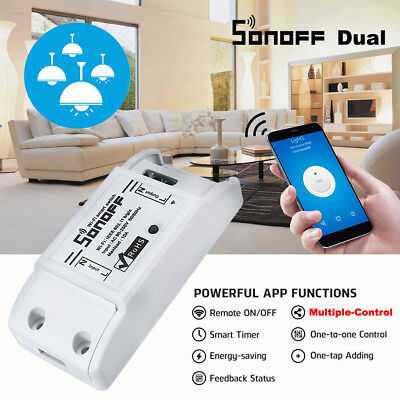 SONOFF Smart Home WiFi Wireless Switch Module Monitor For IOS Android APP Ctrl U