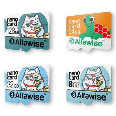 Alfawise 8/32/64/128GB High Speed High Capacity Micro 80MB/S SD Card Waterproof