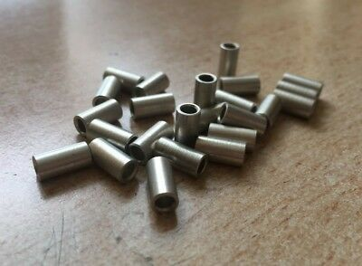 M3 x 10mm  Round Standoff  Spacer   Female - Female  Spacer Brass Nickel   Z2986