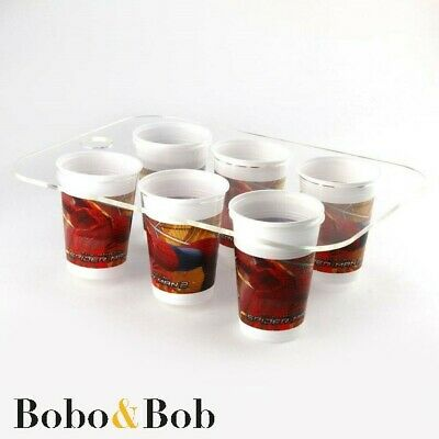 Vending Machine Tray, Cup Holder, Office, 6 Cups, Hot Drinks, Frosted or Clear