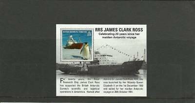 Bat Sgms544 Royal Research Ships Mini Sheet Mnh