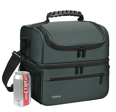 Kato Extra Large Lunch Bag for Men Women Insulated Adult Reusable Meal Prep  new. 5b985c69c220b