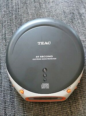 Teac Portable Cd Player PD-P300BLK Free Shipping