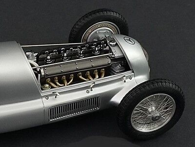 1930s f 1 mercedes benz engine motor in vintage audi race car with wire  wheels