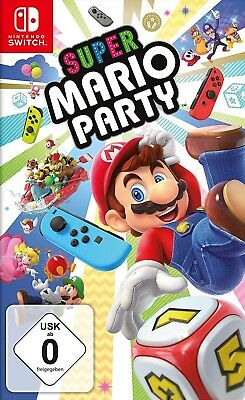 Nintendo Switch - Super Mario Party NEU & OVP Vorbestellung: 05.10.2018