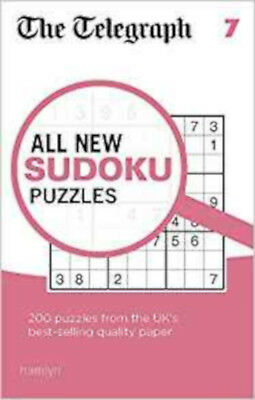 The Telegraph All New Sudoku Puzzles 7 (The Telegraph Puzzle Books), New, THE TE