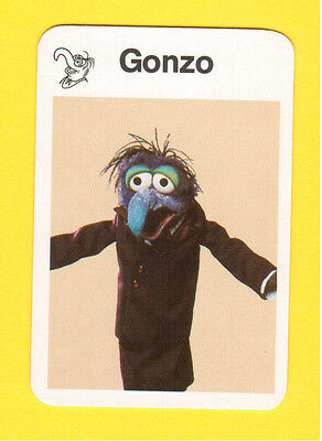 The Muppet Show Jim Henson 1978 German Card Gonzo A