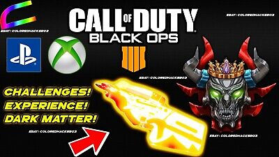 Call of Duty:Black Ops 4║ Bo4 Power level/Prestige Lobby Mods Recovery *PS4/XB1*