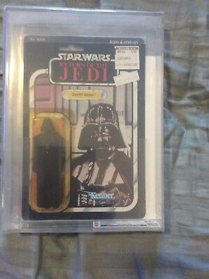 Kenner Darth Vader Star Wars Action Figure AFA 85+ MOC Return Of The Jedi