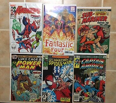 Marvel DC Huge Comic Lot Batman Flash Avengers Spiderman Iron Man Bronze Silver