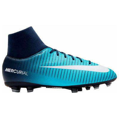 sale retailer 78538 f237d Nike Mercurial Victory Df Junior Godasses de Football Fg UK 4 Us 4.5 Eur  36.5