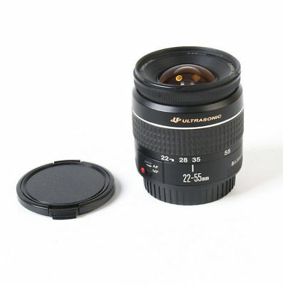 Canon Zoom lens EF 22-55mm 1:4-5.6 USM Ultrasonic  mint with cap and filter.