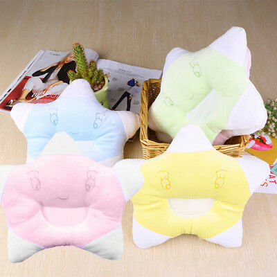 Pillow Newborn Infant Toddler Baby Pad Prevent Flat Head Sleep Support Cushion