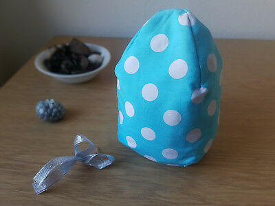 Hand Made Egg Shaped Lavender Scented Microwavable Heat Pack/ Heat compress