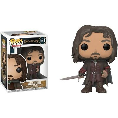 Funko - POP Movies: Lord Of The Rings /Hobbit S3 - Aragorn Brand New In Box
