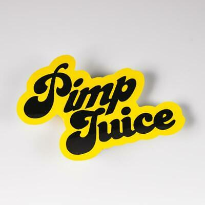 Farmtruck and Azn - Street Outlaws - Pimp Juice Traction Decal