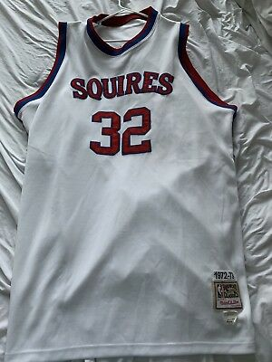 8de1416b1 Mitchell   Ness Authentic Julius Dr J Erving Virginia Squires Jersey Mens  Sz 3Xl