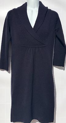 89c3e5d1ecd8 TART COLLECTIONS BLUE Navy V-Neck 3/4 Sleeve Dress NWT Size XS ...