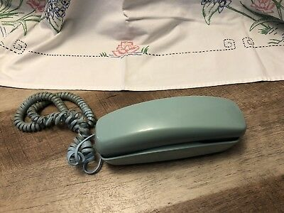 Vintage Trimline Bell Systems Western Electric Aqua Turquoise Phone Telephone