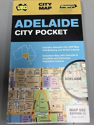 Adelaide City Pocket City Map
